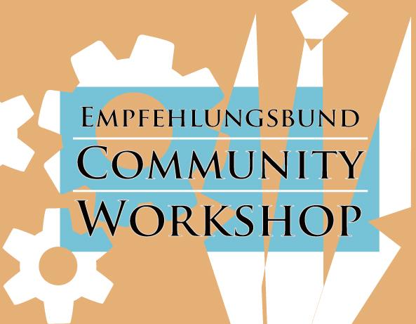Community workshop blog